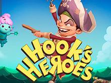 Герои Крюка из официального казино онлайн