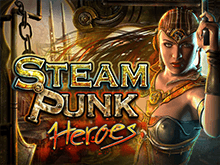 Играть на реальные денеьги в Steam Punk Heroes